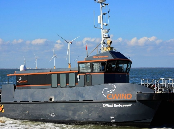 CWind Completes Sale of Endeavour to Wood Marine as Part of CTV Fleet Upgrade Project