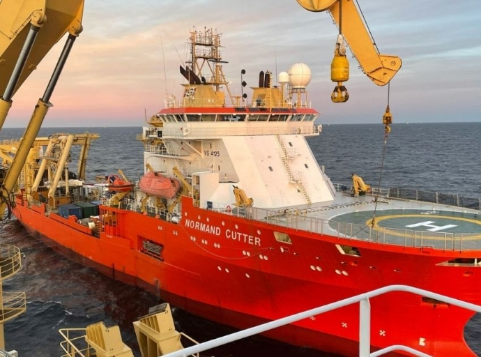 Global Offshore Completes Cable Installation Offshore Denmark