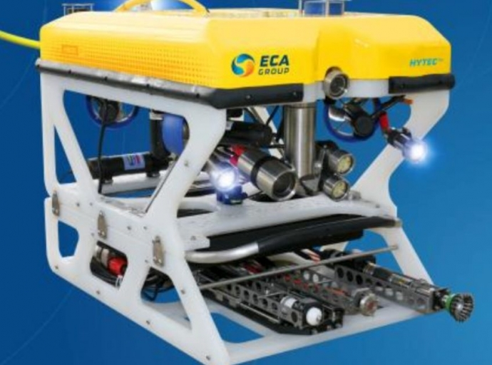 ECA GROUP Delivers ROV for UWILD Offshore Underwater Works in Argentina