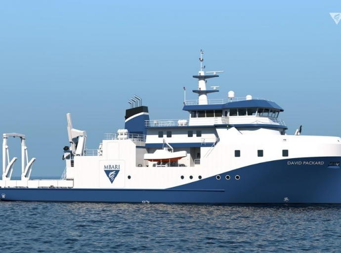 MBARI announces construction of new state-of-the-art research ship, R/V David Packard