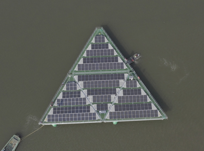 SolarDuck Launches First Floating Solar Panel Platform