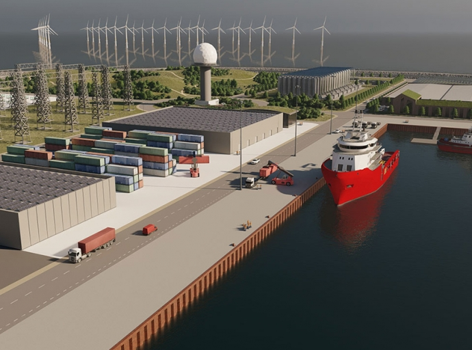 Ramboll to Support the VindØ Consortium for the World's First Artificial Energy Island