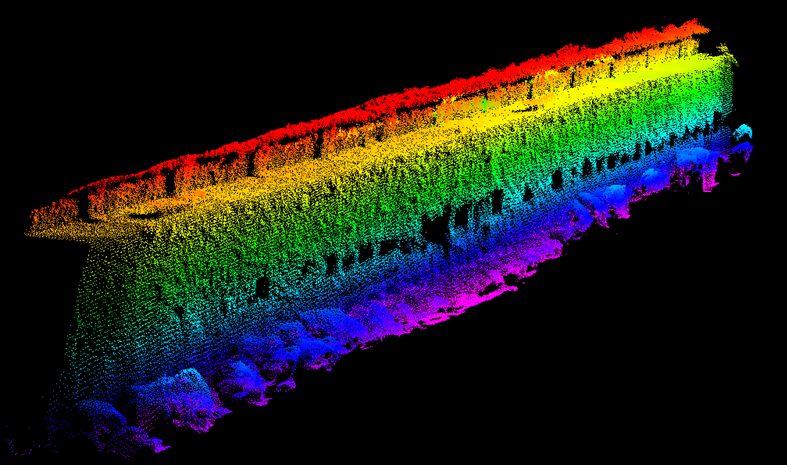 Fig4 Barge Point Cloud