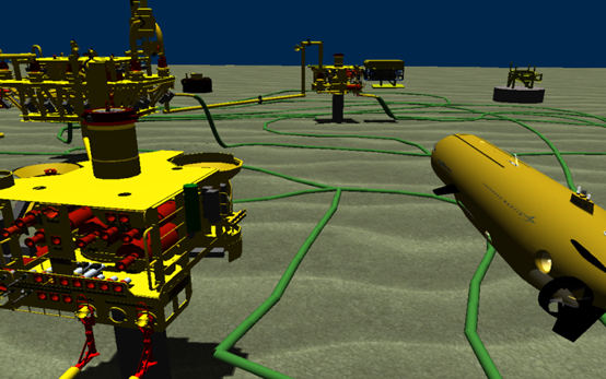 Fig6a AUV in Subsea Field