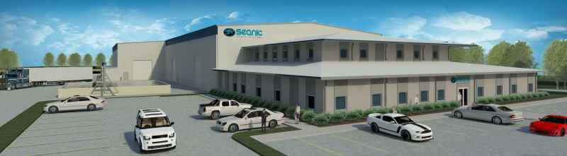 Seanic New Facility Rendering