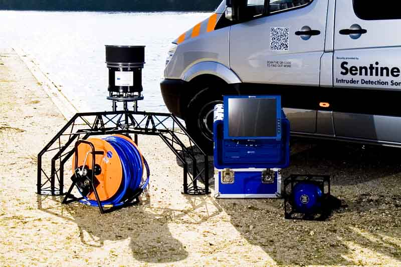 Sonardyne Sentinel equipment