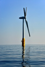 floating turbine off Japans Southern-most island
