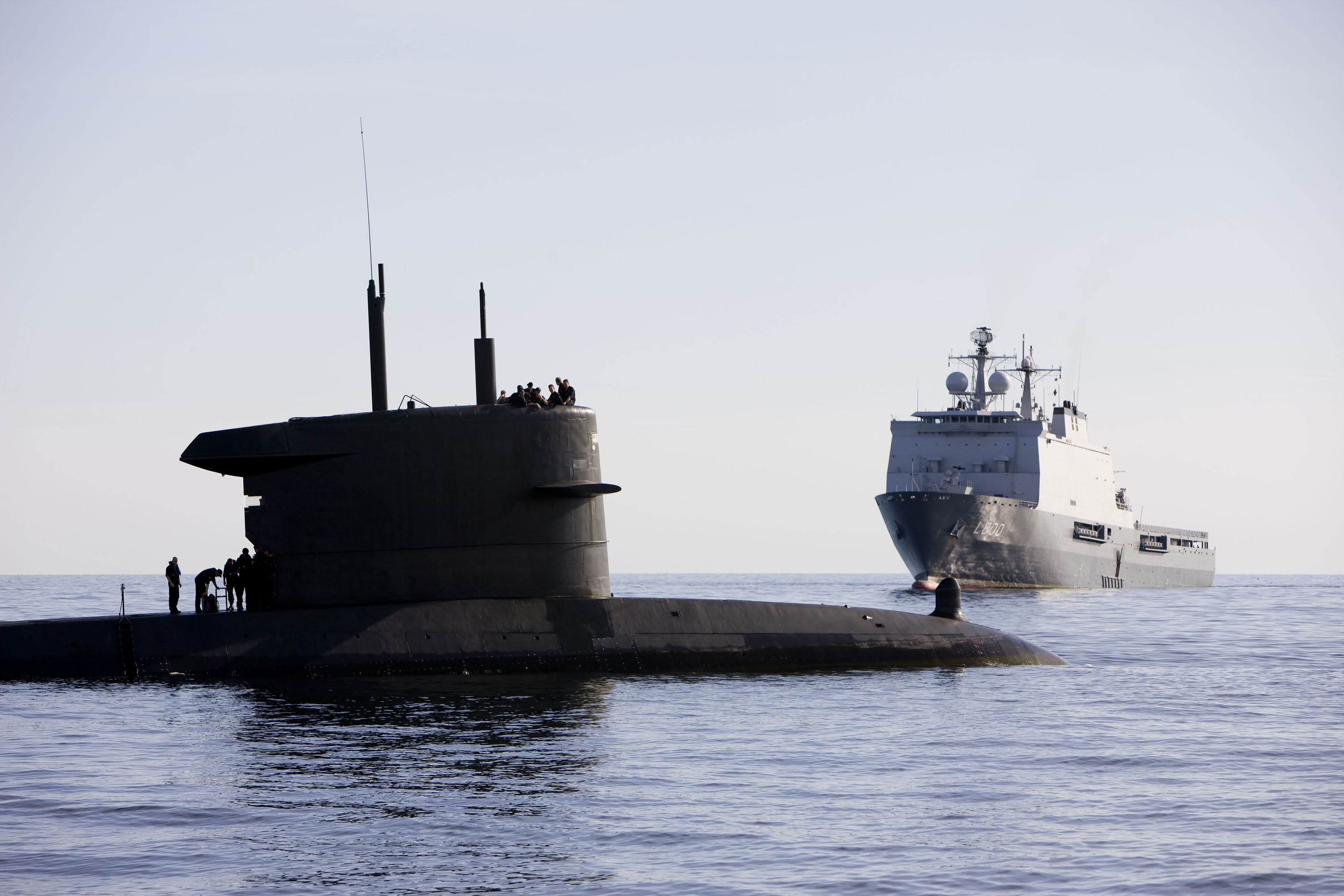 Saab and Damen Team for Walrus Future Submarine Replacement