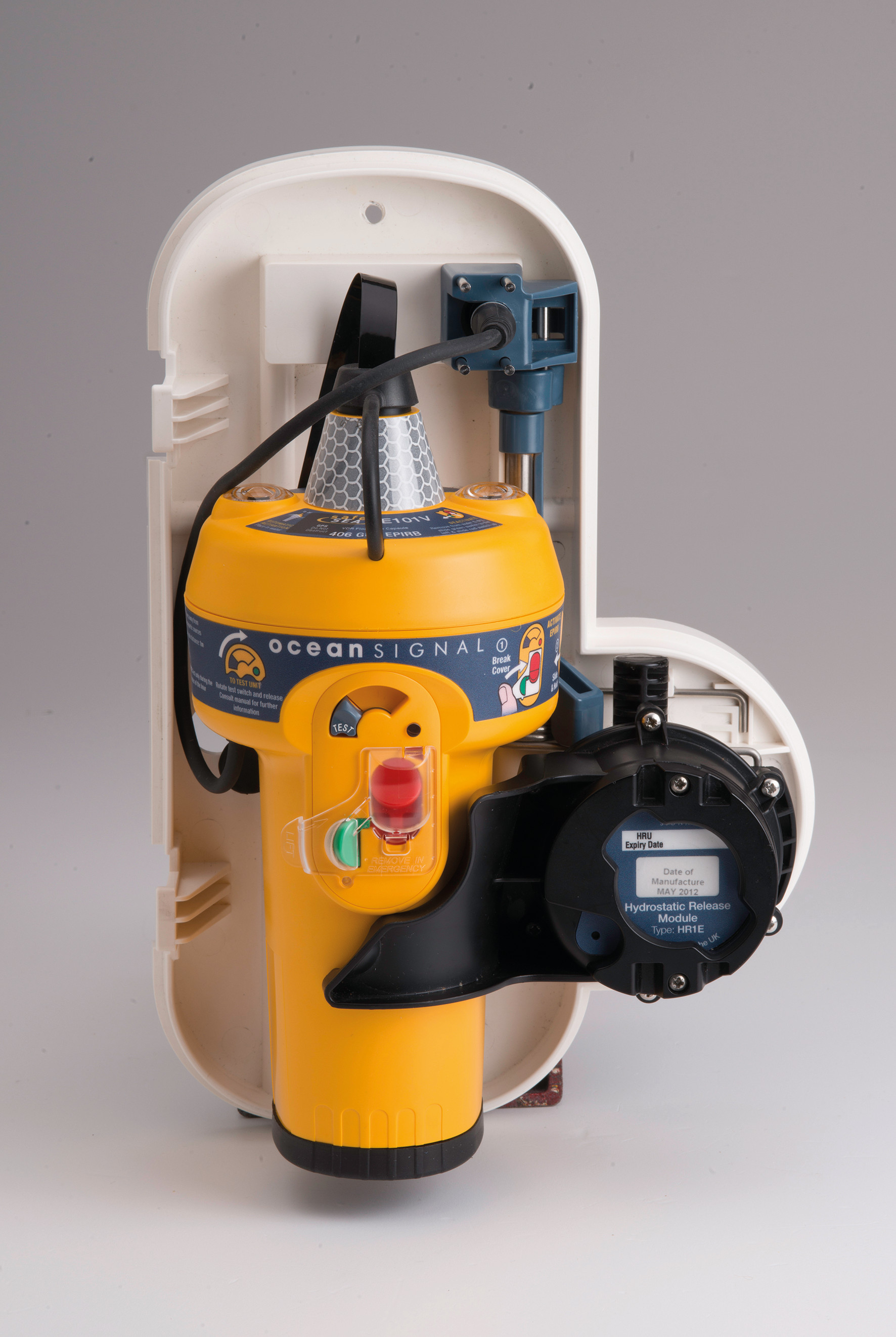 Ocean Signal and AMI Marine Launch New E101V Float-Free