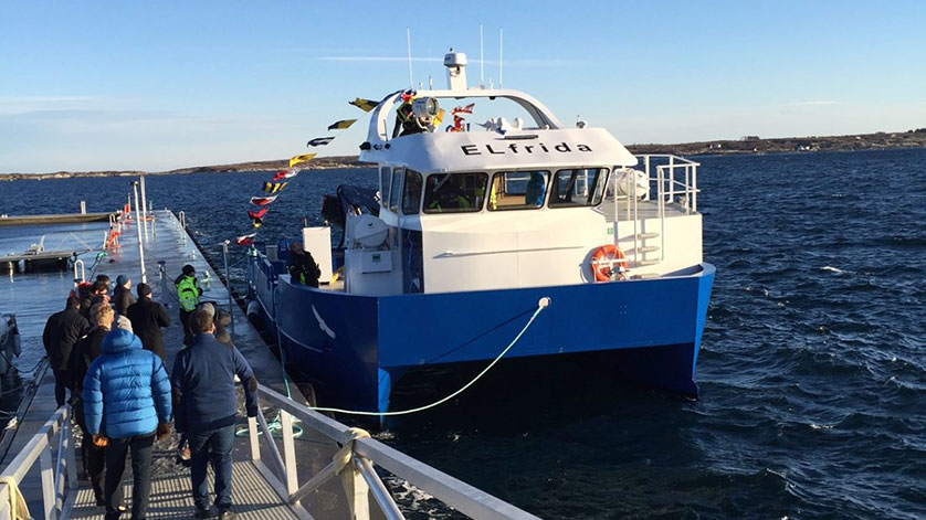 PBES Powers World First Electric Aquaculture Support Vessel