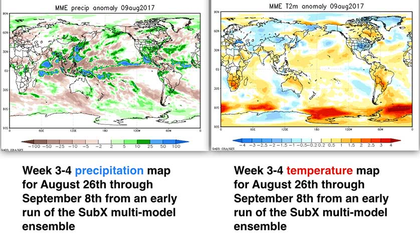 New Weather Forecasting Model Could Help NOAA's 3-4 Weeks Outlook