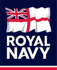 Logo of the Royal Navy