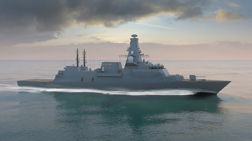 Production Begins for the First Royal Navy Type 26 Global Combat Ship