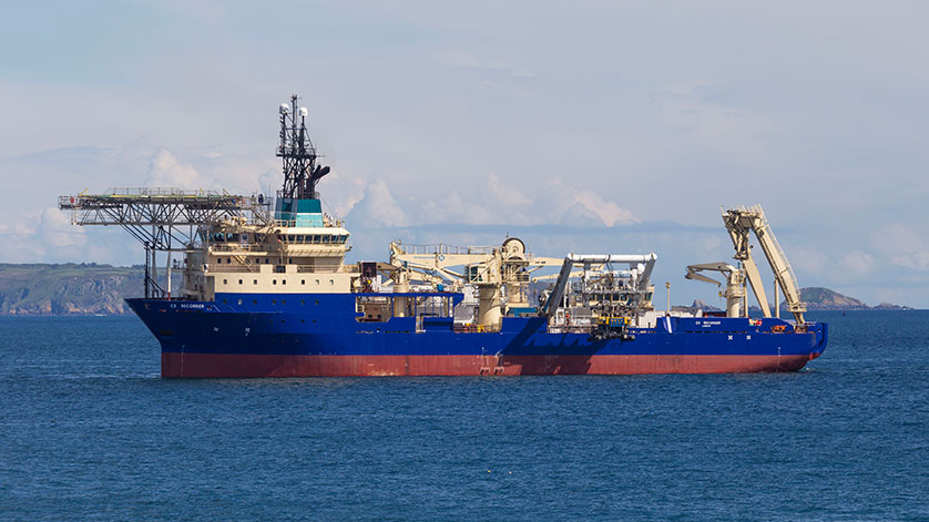 CS Recorder Completes Cable Reburial Project in 3 Weeks