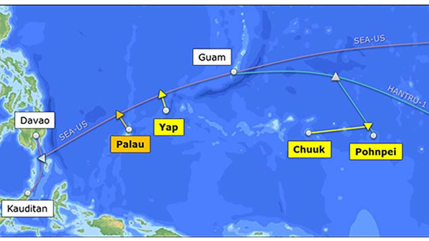 BSCC, NEC Complete Submarine Cable Linking the Republic of Palau
