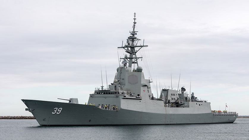 Raytheon to Deliver Anti-Air Warfare Technology to Australian Navy
