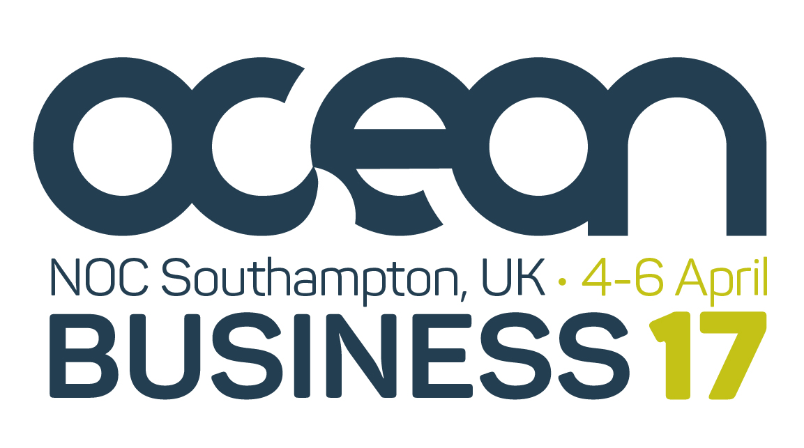 Ocean Business 2017 Logo White
