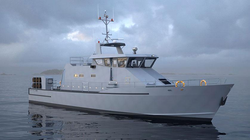 Damen Partners with Metal Shark to Build Patrol Vessels