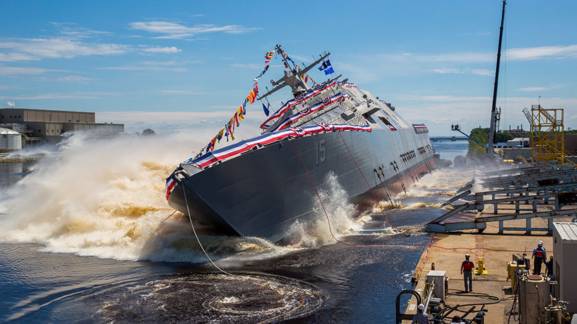 Lockheed Martin-Led Team Launches Future USS Billings