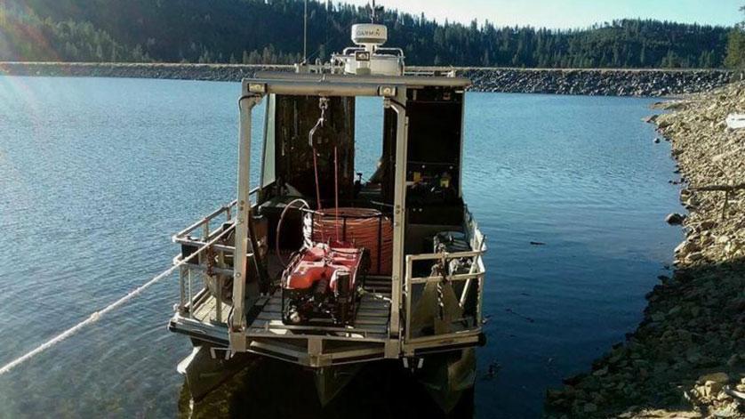 Deep Ocean Engineering Phantom 174 T4h Rov Completes Dam