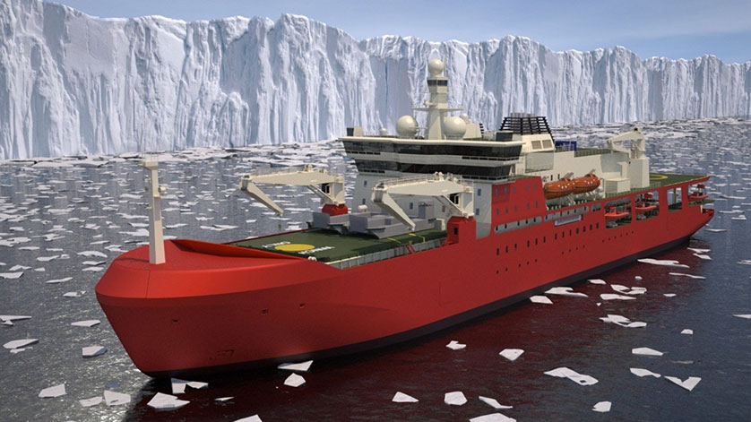 Radio Holland Awarded IT Package for Antarctic Supply Research Vessel