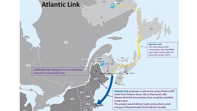 Emera Bids Atlantic Link into Massachusetts Clean Energy RFP