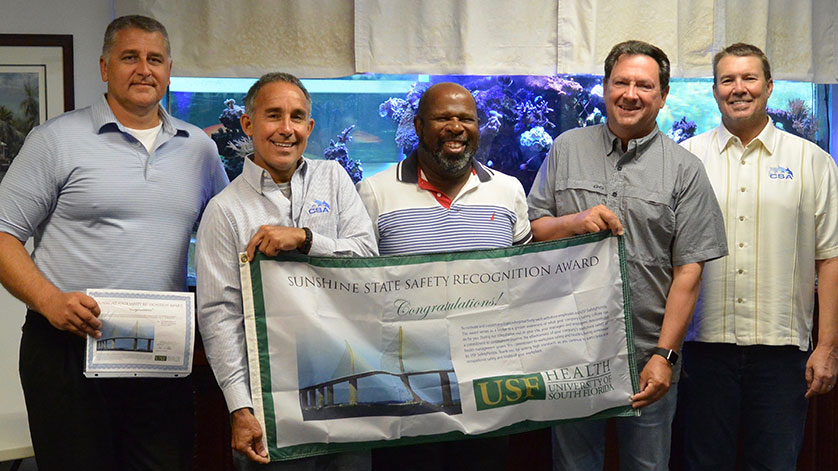 CSA Ocean Sciences Inc. Receives Safety Recognition Award