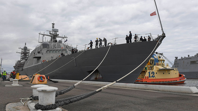 USS Detroit Completes Final Contract Trials, Exercises Major Systems