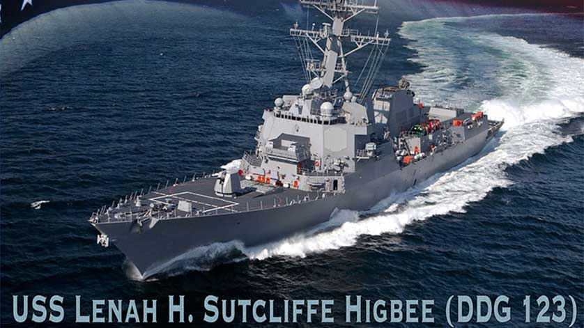 Keel Laid for Future Destroyer USS Lenah H Sutcliffe Higbee