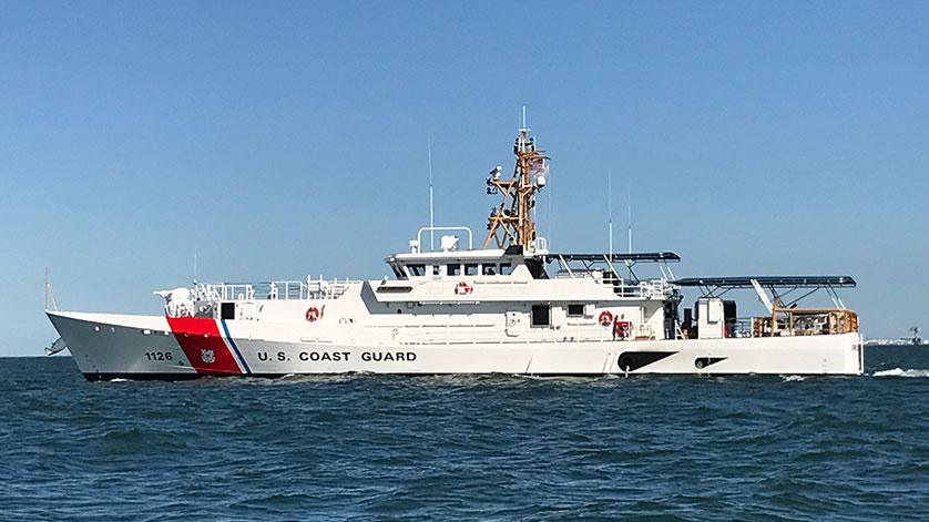Bollinger Delivers the USCGC JOSEPH GERCZAK to the USCG