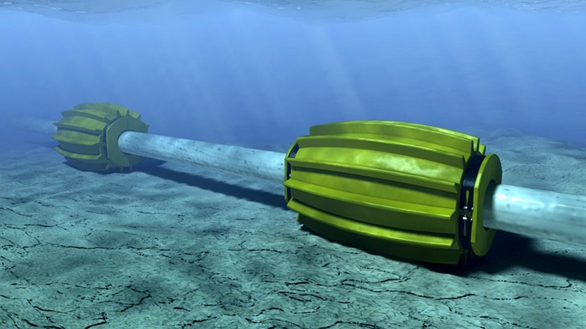 Innovative Rotating Buoyancy Modules Create Safe Buckling Zones