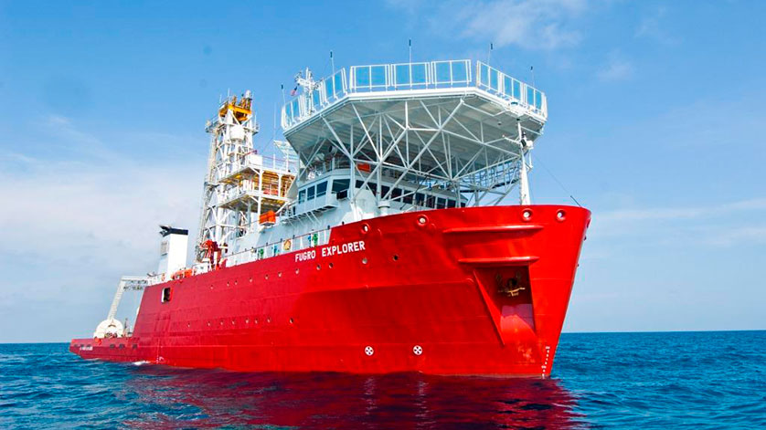 Fugro Awarded Marine Survey Contract from Pemex