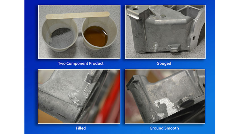 PlasticMetal from Stronghold Quickly Repairs All Types of Metals