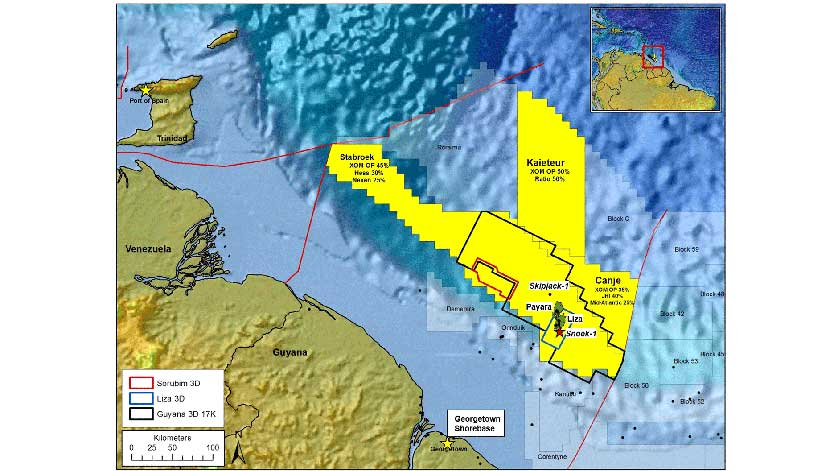 News Source Guyana >> ExxonMobil Makes 5th Discovery Offshore Guyana | Energy | News