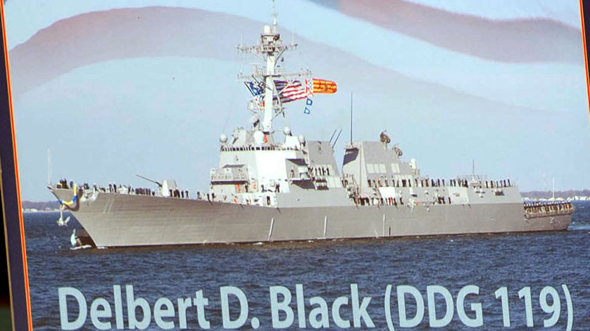 US Navy Launches Next Destroyer, the Future USS Delbert D. Black