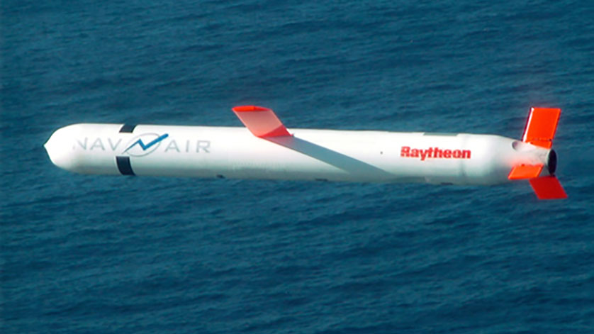Raytheon Enhances Tomahawk Cruise Missile to Hit Moving Targets at Sea