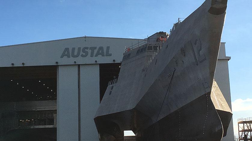 Austal Delivers Sixth Littoral Combat Ship to U.S. Navy