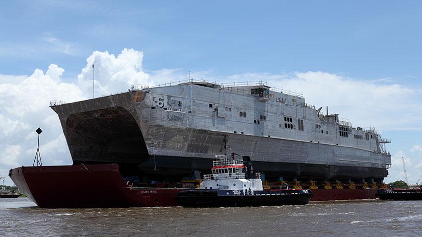 City of Bismarck (EPF 9) Completes Builder