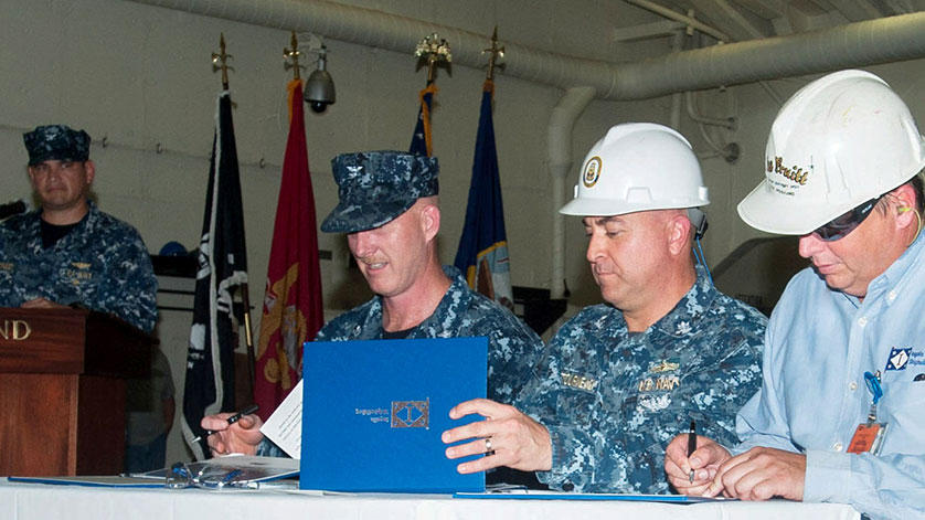 Huntington Ingalls Industries Delivers Portland (LPD 27) to U.S. Navy