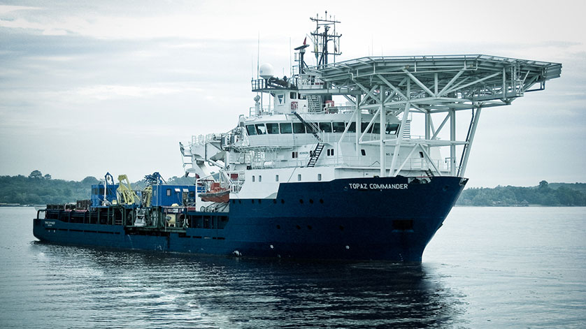 Orange Seamlessly Integrates Topaz's Ships and Onshore Operations