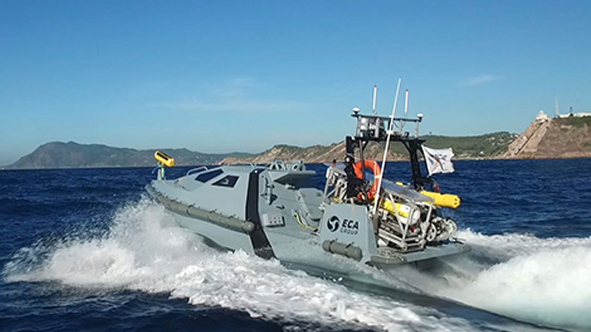 ECA Group Awarded New Orders in the field of Naval Robotics