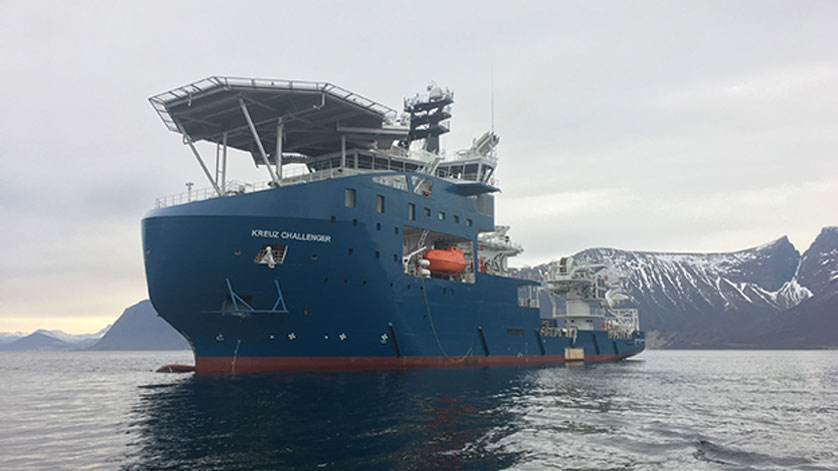 New-build Kreuz Challenger Mobilized for Brunei Shell Contract