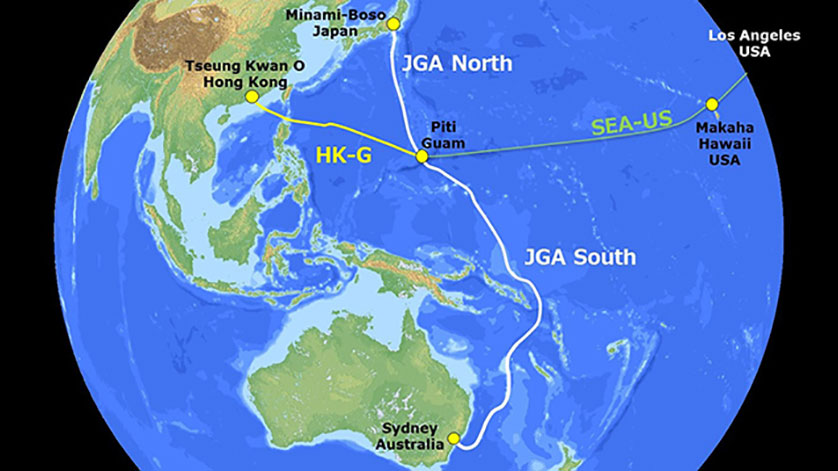 Construction Begins on Cable System to Connect Japan, Guam, and Australia
