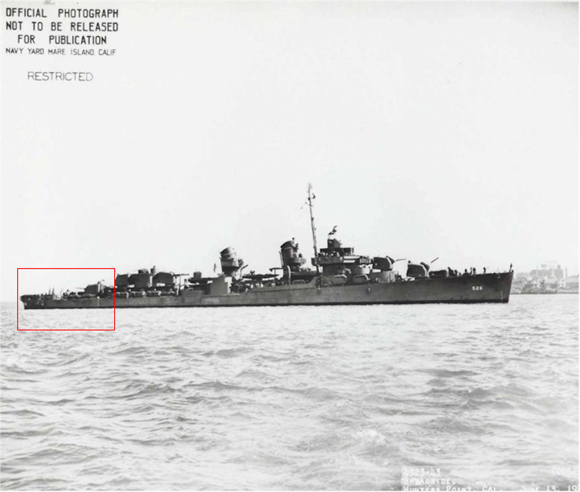 Discovery of Stern from World War II US Destroyer Offshore Alaska