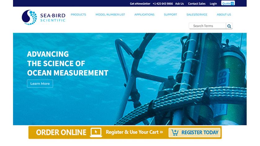 Sea-Bird Scientific Launches New Enhanced Website