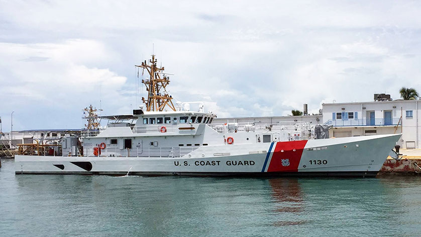 Bollinger Delivers Fast Response Cutter to the U S  Coast