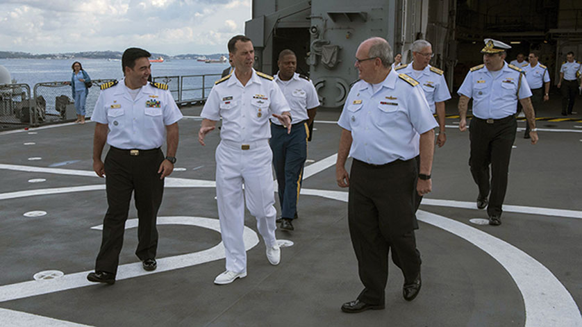 CNO Visits Naval Partners in Brazil, Deepens Strategic Relationship