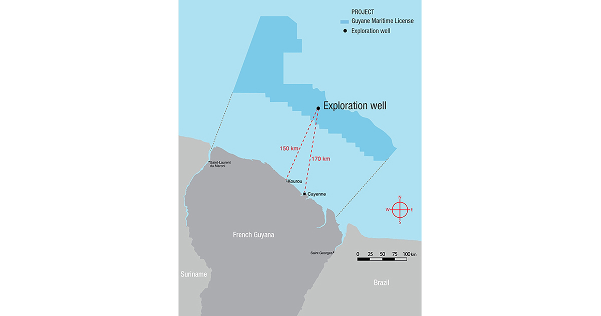 Total Promise Transparency for Exploration Campaign in French Guyana