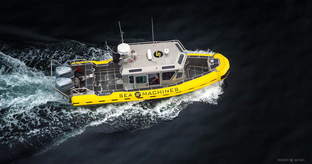 Sea Machines Raises $10 Million in Series A Funding