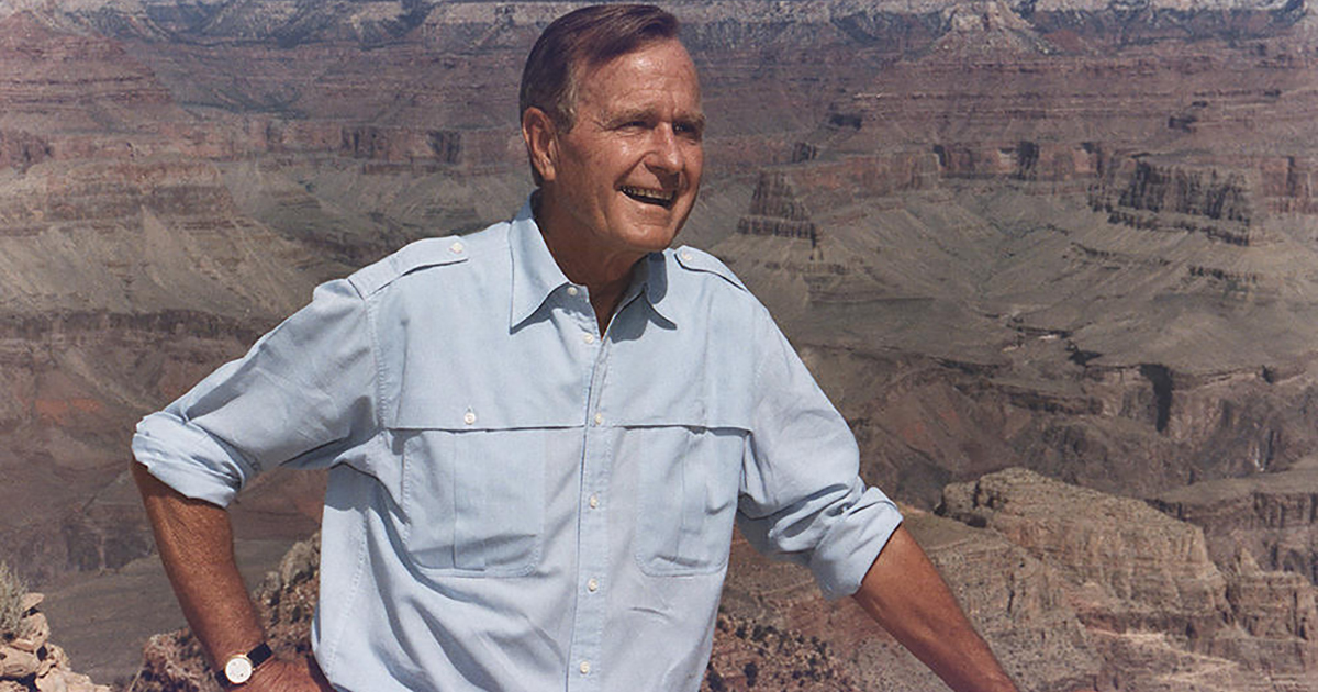 The National Marine Sanctuary Legacy of President George H.W. Bush